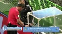 Presidente do Palmeiras explica porque o clube é a favor do árbitro de vídeo no Brasileiro