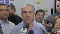 Governador de MS fala sobre recuperação de estradas atingidas pelas chuvas