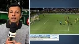 Guerra é elogiado no Palmeiras por comportamento mesmo estando na reserva