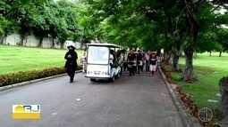Sargento da polícia rodoviária de Araruama, RJ, é enterrado