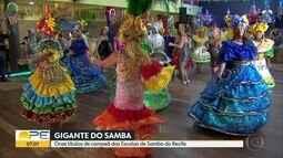 Escola Gigante do Samba é campeã das agremiações do Recife