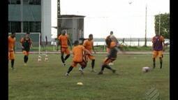 Remo treina com foco no jogo contra Bragantino