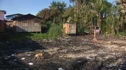 MPE pede avaliação em área no bairro Beirol que teve casas destruídas por incêndio em 2017