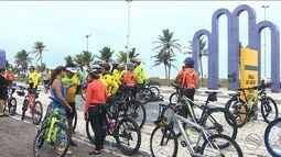Ciclistas pedem mais segurança nos passeios