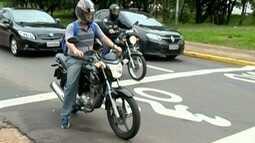 Semav faz balanço sobre bolsões para motos em semáforos