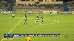 Botafogo-SP empata com São Bento no Paulistão 2018