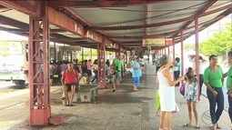Usuários do transporte público reclamam de condições dos terminais
