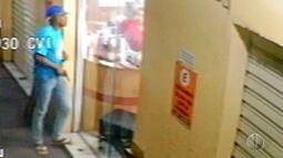 Bandidos assaltam galeria de lojas no Barro Vermelho, em Natal