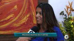 IF Sertão-PE inscreve para transferência, portador de diploma, reingresso e professor