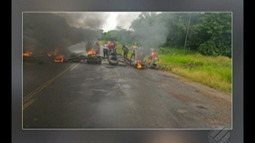 Moradores de vila no Marajó protestam contra abandono de escola municipal