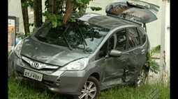 Semáforos desincronizados causam acidente no bairro do Reduto, em Belém