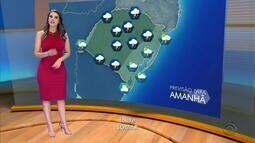 Tempo: chuva tem previsão de permanecer no RS até quarta-feira (21)