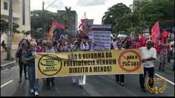 JPB2JP: Protesto contra a Reforma na Previdência em João Pessoa