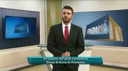 ACP perde a primeira partida pelo Paranaense