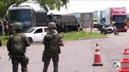 Militares realizam operação nas principais rodovias que cortam Sul do Rio