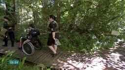 Atrativos turísticos de Bonito são exemplos de acessibilidade