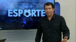 Kako Marques apresenta as notícias do esporte para esta quinta-feira