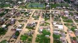 Silva Jardim, RJ, está em estado de alerta após forte chuva