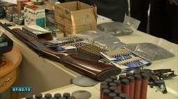 Justiça nega pedido de liberdade a homem preso com 39 mil munições