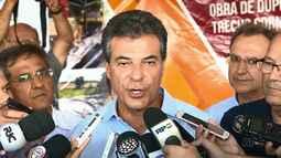 Governador libera obras de duplicação em trecho da BR-369