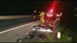 Motociclista morre em acidente na Rodovia Anhanguera