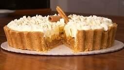 Confira como preparar a irresistível Torta Banoffe