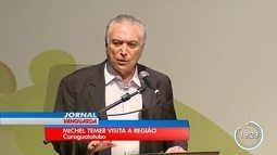 Com protesto, Temer entrega títulos fundiários em Caraguá