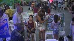 Criançada se diverte na Vila Cidadã no Fórum Mundial da Água