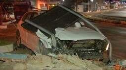 Madrugada tem registro de racha e motorista embriagado no trânsito