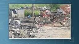 Corpo é encontrado carbonizado dentro de casa incendiada em Cujubim,RO