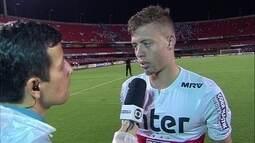 Lucas Fernandes fala sobre a classificação do São Paulo para as semifinais do Paulistão