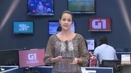 Mariana Bonora traz os destaques do G1 desta quarta-feira