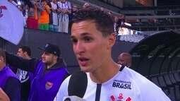 Adaptado, Mateus Vital diz que se sente em casa no Corinthians