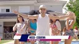 Nicco, de São José dos Campos, lança clipe no programa.