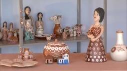 """""""Tesouros do Vale"""" mostra as belezas dos trabalhos feitos por artesãos de Minas Novas"""