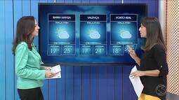 Terça-feira será de sol entre nuvens no Sul do Rio de Janeiro