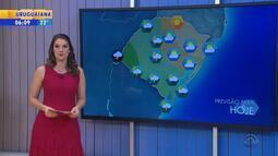 Tempo: RS pode receber chuva nesta sexta-feira (20)