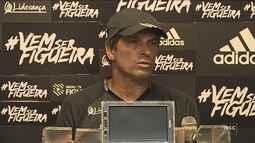 Milton valoriza semana livre e deve repetir escalação do Figueira que enfrenta o Goiás