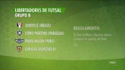 Joinville estreia neste domingo na Libertadores de Futsal