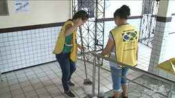 Voluntários de igreja em São Luís aproveitam feriado para ajudar escola pública