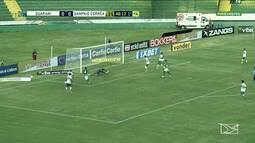 Sampaio perdeu para Guarani, por 2 a 0, pela Série B do Brasileiro
