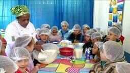 Salão do Pinhão traz oficina de culinária para alunos da Região de Visconde de Mauá