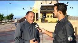 Padre fala da programação da festa de Santa Rita de Cássia, padroeira de Santa Cruz