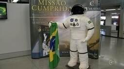 Exposição comemora os 12 anos da expedição do astronauta brasileiro Marcos Pontes