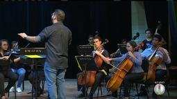 Orquestra Sinfônica da UFRN realiza projeto com jovens de escola da Grande Natal