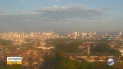 Veja como fica o tempo em Araraquara e Rio Claro nesta sexta-feira (25)