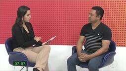 Wanderson Gandra (PSB) é entrevistado pelo MG Inter TV 1ª Edição