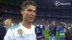 "Cristiano Ronaldo deixa futuro em aberto: ""Foi bonito estar no Real Madrid"""