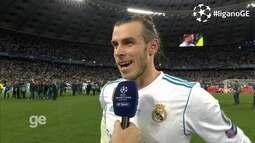 Gareth Bale fala sobre conquista da Champions com direito a golaço
