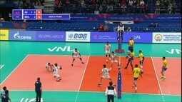 Brasil vence Irã na Liga das Nações